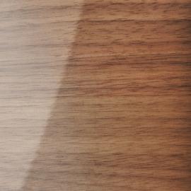 Folha de madeira Nogueira Alto brilho